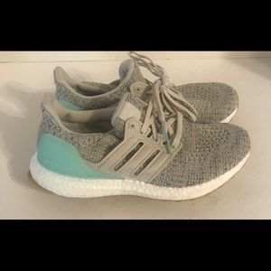 Adidas Ultra Boost 4.0 Carbon Mint Sneakers 6